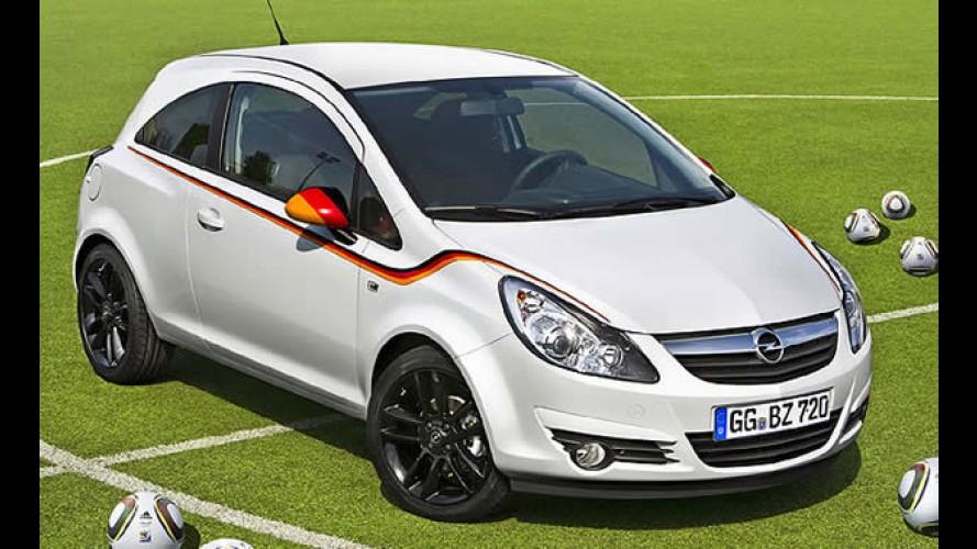 Opel lança série especial do Corsa para homenagear a seleção alemã