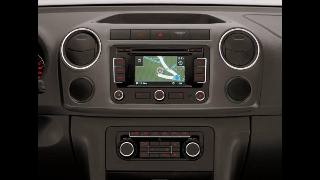 Volkswagen lança linha Amarok 2012 com algumas novidades