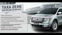 Ford oferece Edge em financiamento com taxa zero e saldo em 36 vezes