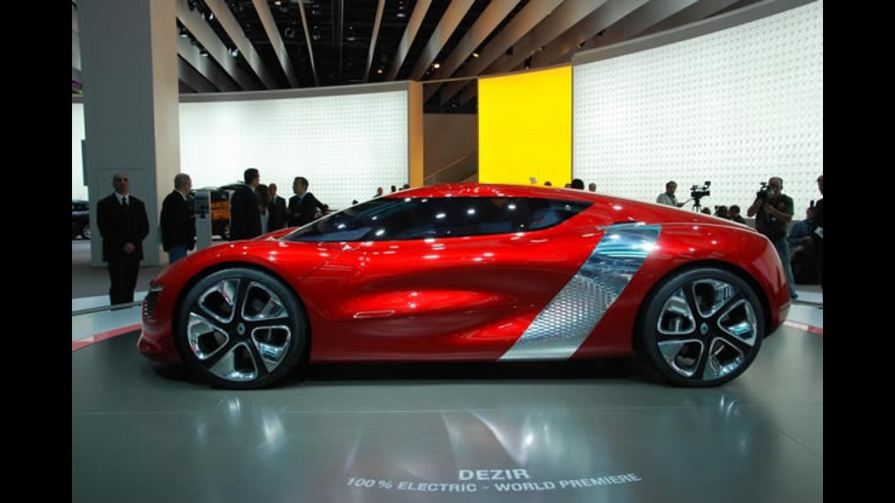 Fotos do Renault Dezir Concept no Salão de Paris