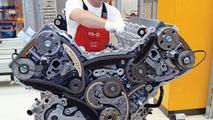 Audi V8 engine production