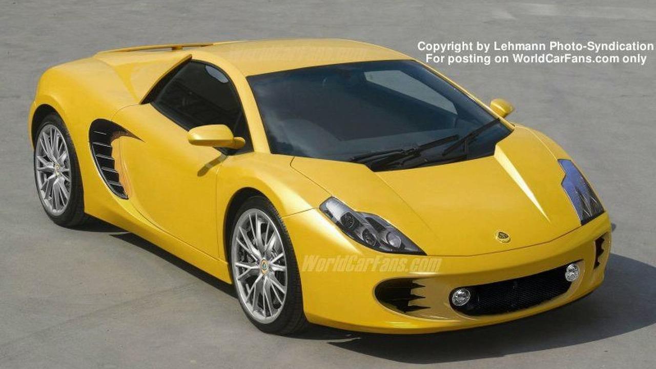 New Lotus Esprit artist rendering