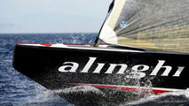 Mercedes R-Class Meets America's Cup Yacht Alinghi