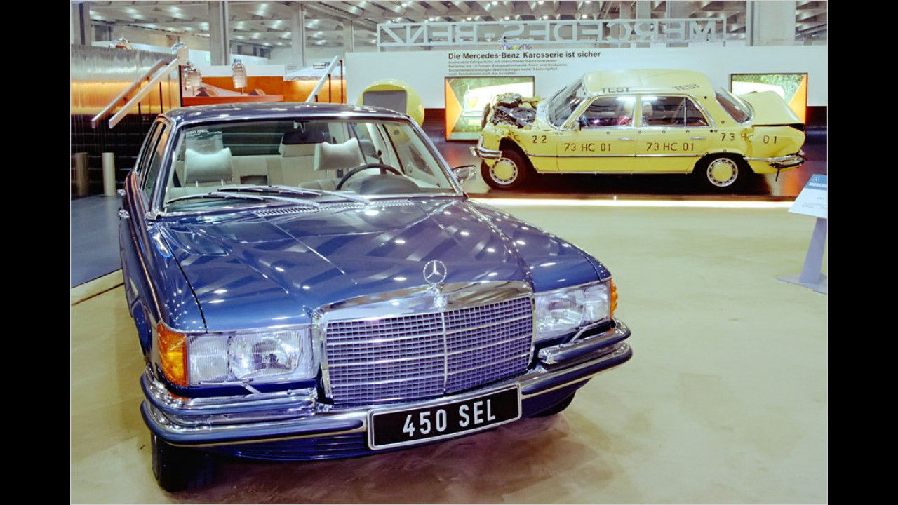 40 Jahre Mercedes S-Klasse (W 116)