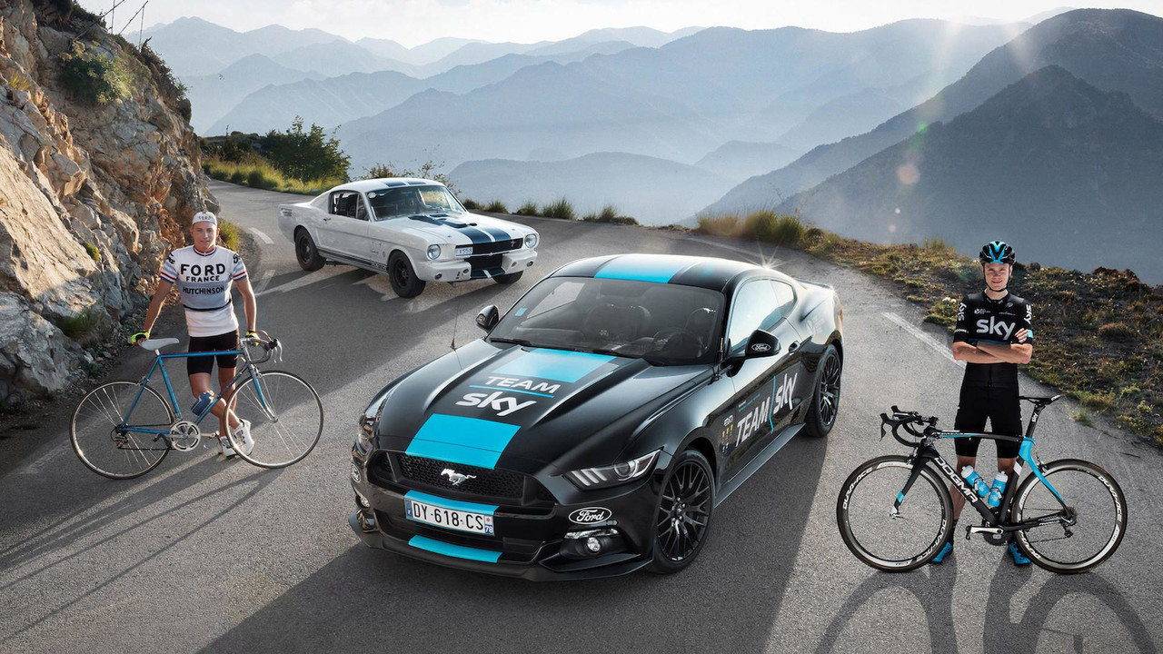 Ford Mustang Team Sky (Tour de Francia 2016)