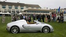 Bugatti Veyron 16.4 Grand Sport Roadster At Pebble Beach