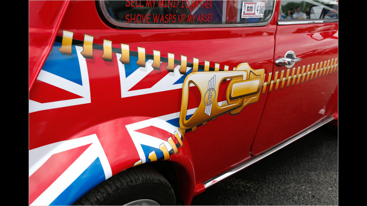Very british: Der Union Jack war eines der meistgesehenen Symbole auf dem IMM 2013.