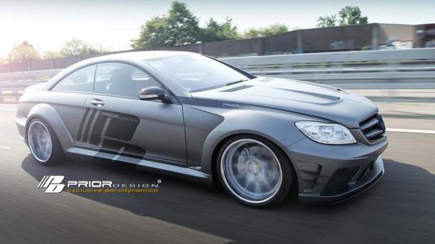 Prior Design prepares widebody kit for the Mercedes-Benz CL