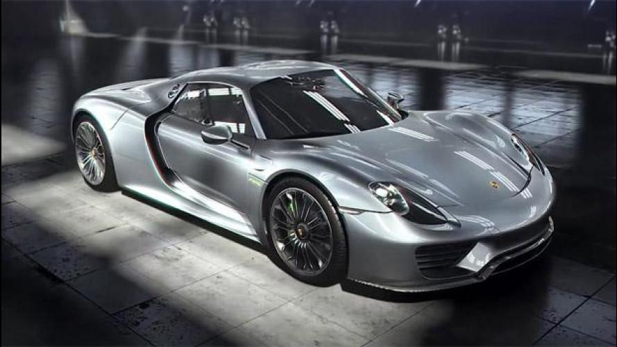 Porsche 918 Spyder e i segreti del sistema ibrido [VIDEO]