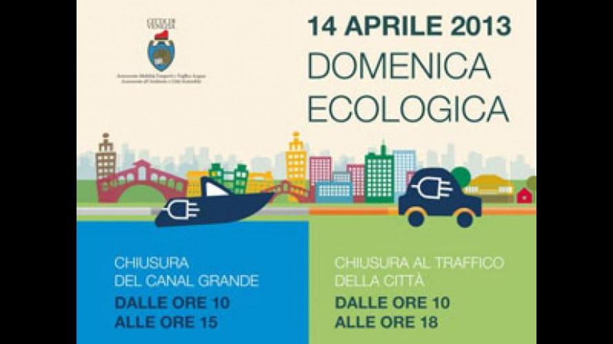 Blocco del traffico a Venezia Domenica 14 aprile