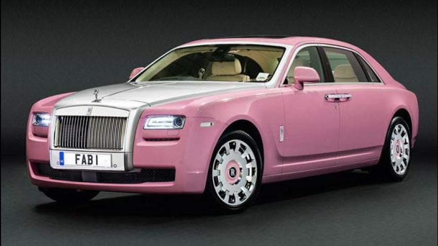 Rolls-Royce FAB1, il lusso si fa rosa per beneficenza