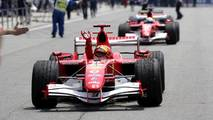 Race winner Michael Schumacher, Ferrari