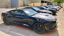 2019 Chevy Camaro SS Spy Photos