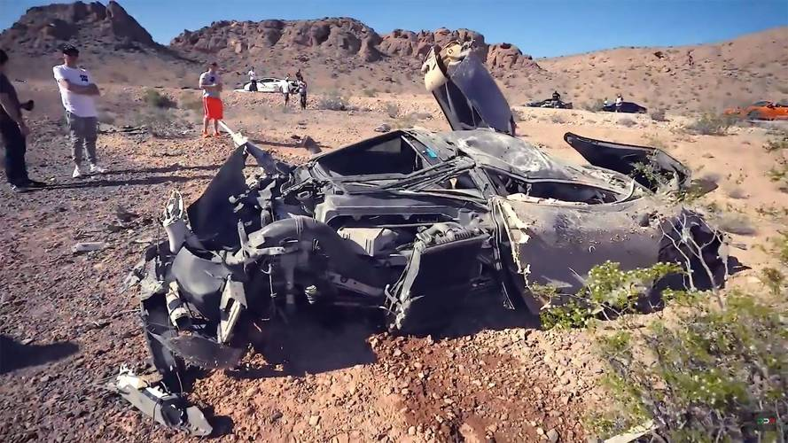 McLaren 720S Is Barely Recognizable After Nasty Crash