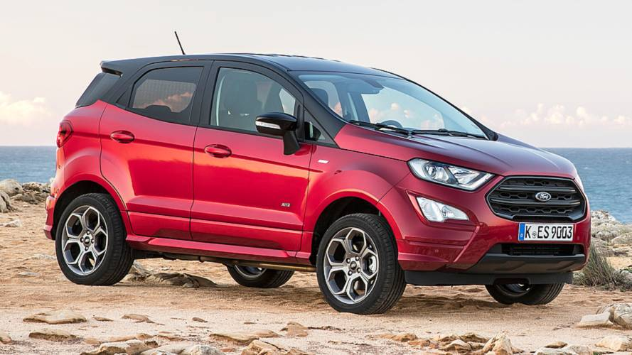 Ford EcoSport, ecco la Diesel 4x4
