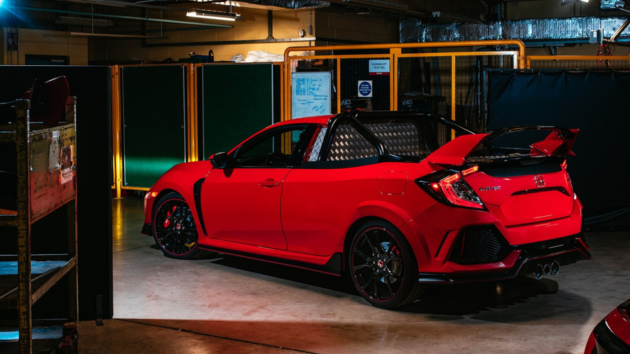 Honda Project P Is A 165-MPH Civic Type R Pickup