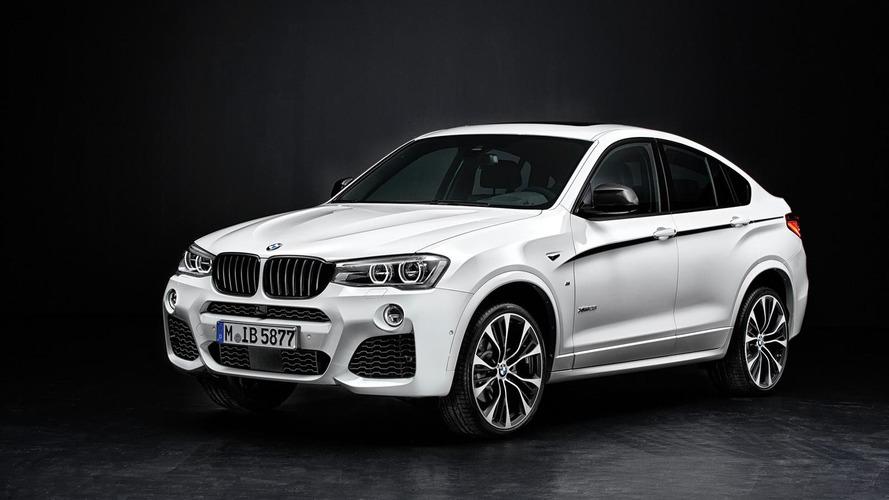 BMW X4 gains M Performance parts for Essen Motor Show
