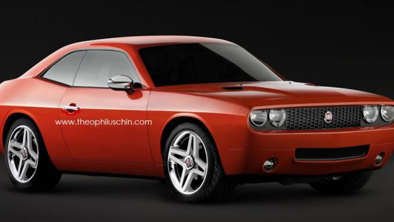 Fiat 128 Sport Coupe rendering / Theophilus Chin