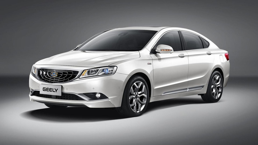 Geely GC9 previewed ahead of December 15 full reveal