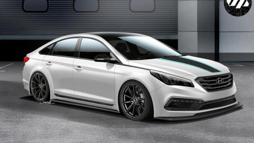 Hyundai JP Edition Sonata previewed ahead of SEMA debut