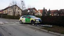 Google Maps Street View car crash