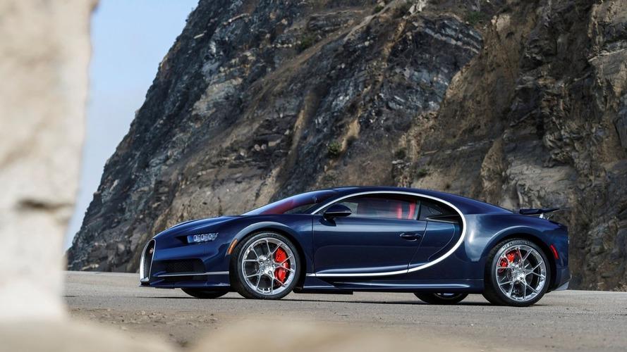 Bugatti Chiron, limitörsüz 458 km/s'e ulaşabilecek