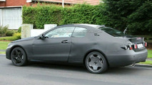 Mercedes CLK Spy Photo
