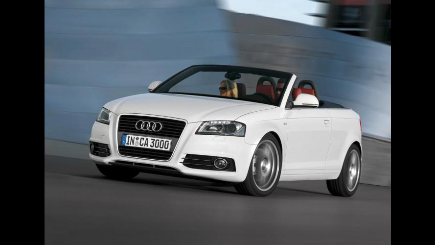 Audi A3 Cabriolet al debutto