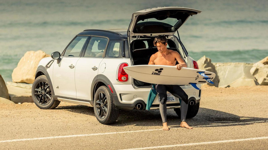 MINI unveils their first surfboard