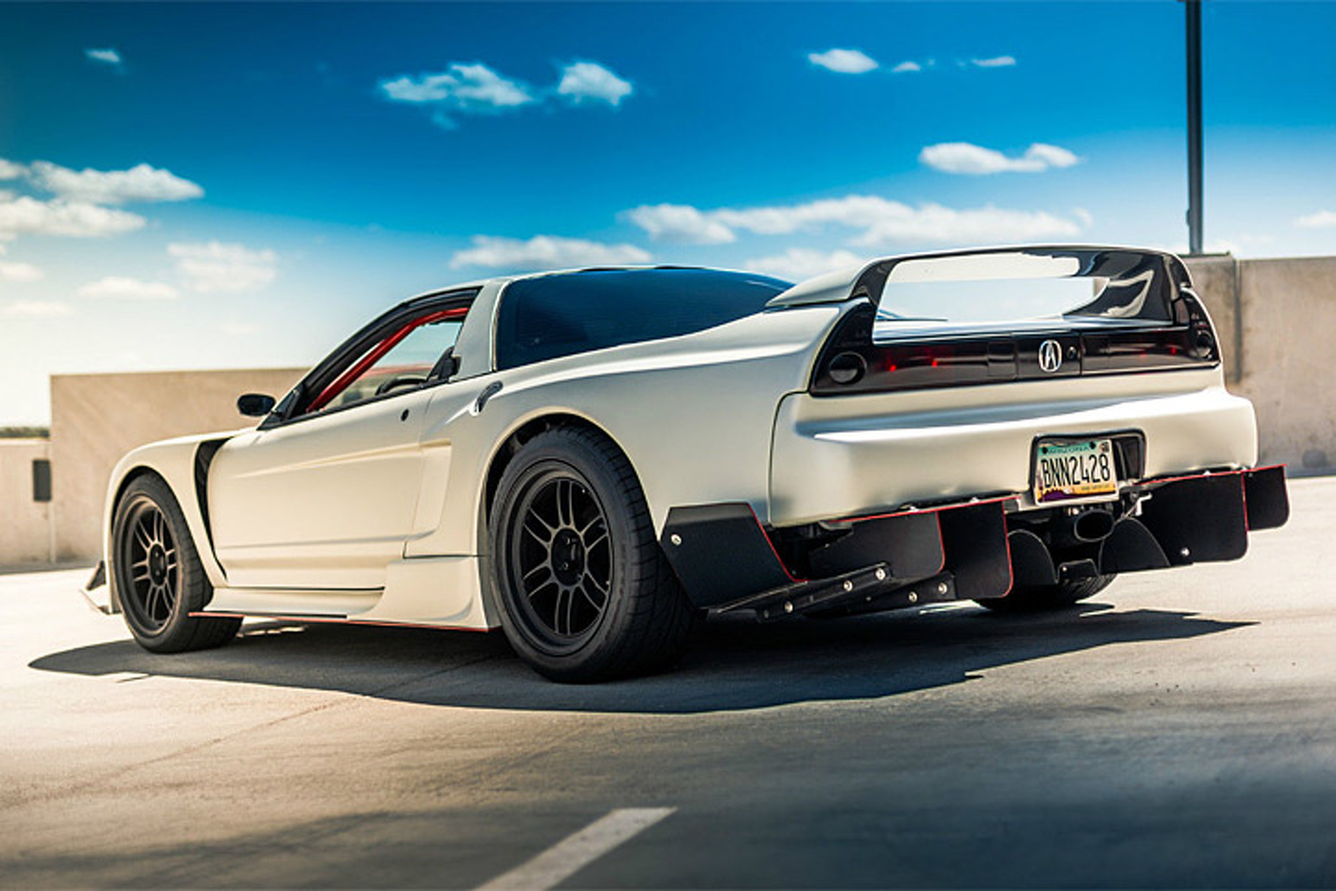 This Acura Nsx Tacks On A Turbo And Gets A Mean Makeover