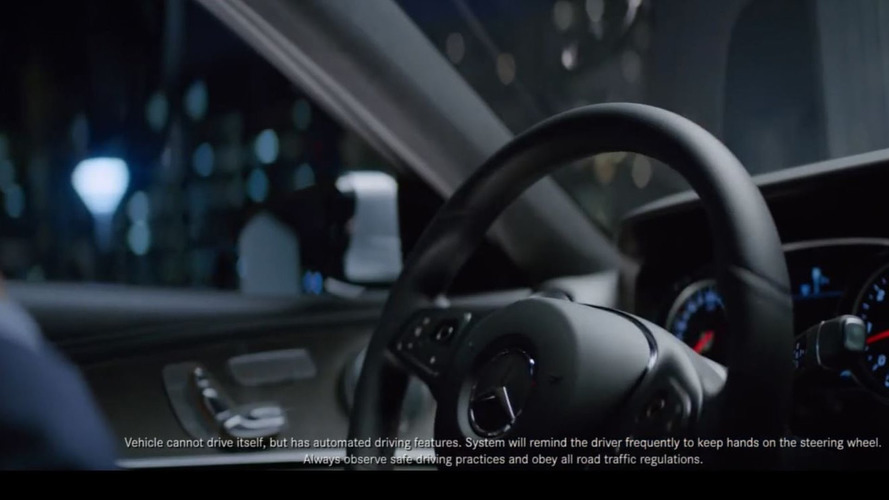 Mercedes denounced for overstating autonomous driving capabilities in TV ad