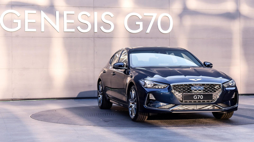 2018 Genesis G70: Official Images
