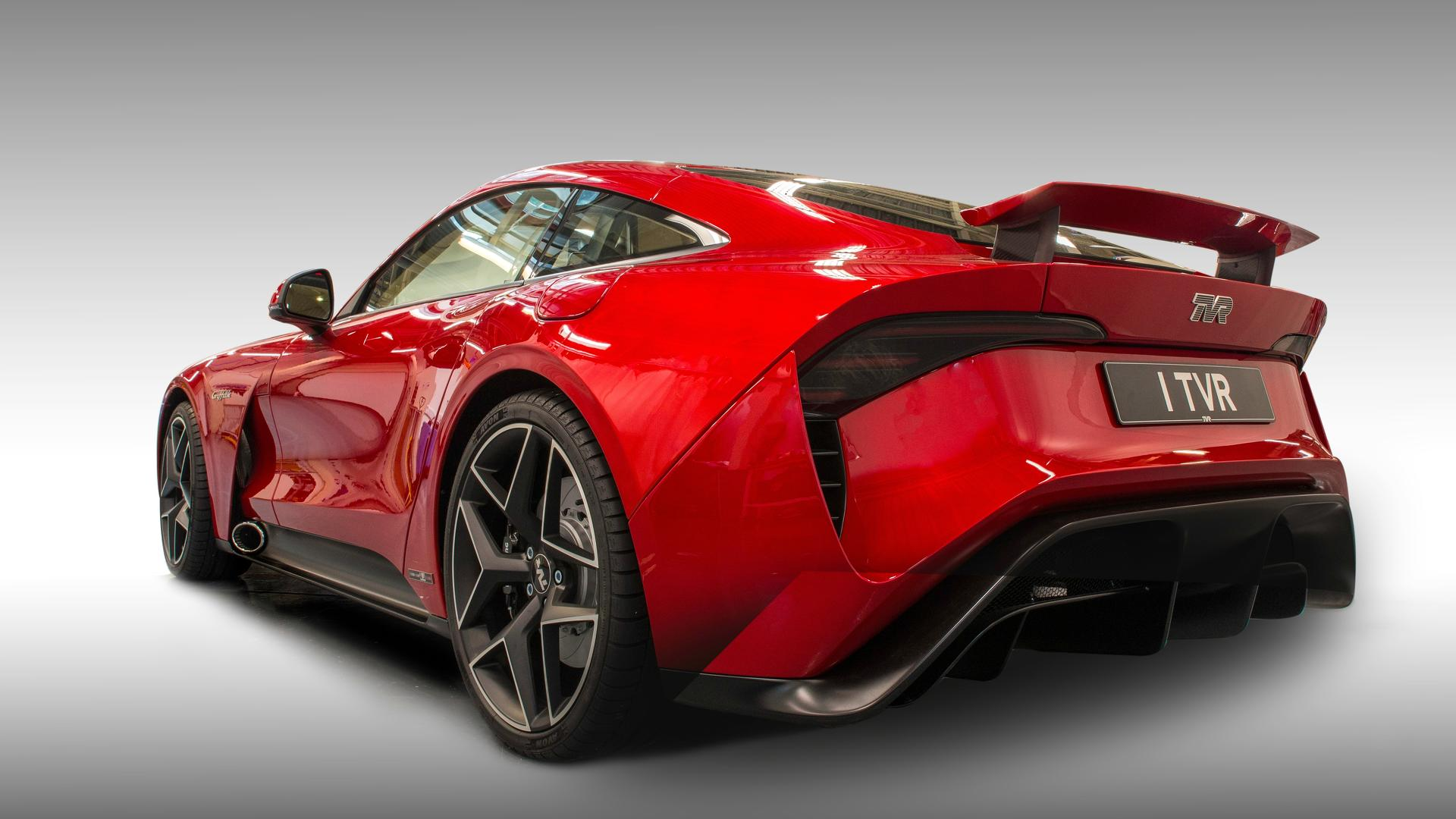 all new tvr griffith unveiled at goodwood revival tvr is back with a rwd. Black Bedroom Furniture Sets. Home Design Ideas