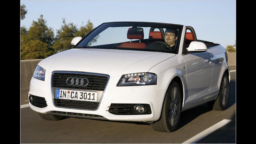 Auf, drei, los geht's!: Das neue Audi A3 Cabriolet im Test