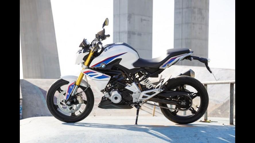 Esta é a versão de produção da BMW G310 R, naked que será feita no Brasil