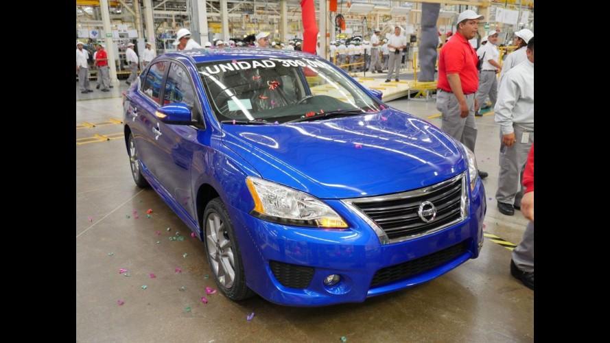 Nissan celebra 300 mil unidades produzidas na fábrica Aguascalientes 2 no México