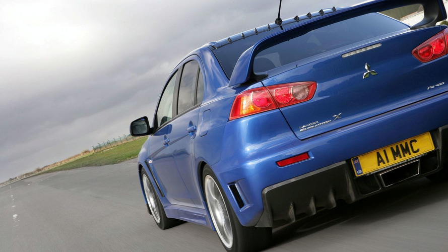 Mitsubishi Evo not dead - just getting neutered?