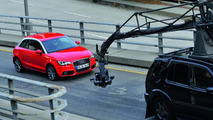 Audi A1 Episodes film shooting with Justin Timberlake 04.05.2010