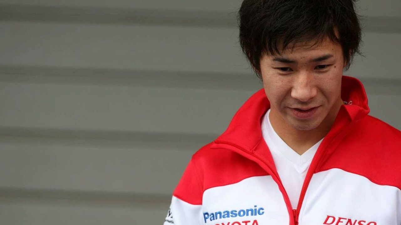 Kamui Kobayashi, Test Driver, Toyota F1 Team - Formula 1 Testing, Algarve MotorPark, Portimão, Portugal, 19.01.2009