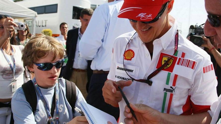 Schu had not signed new Ferrari contract