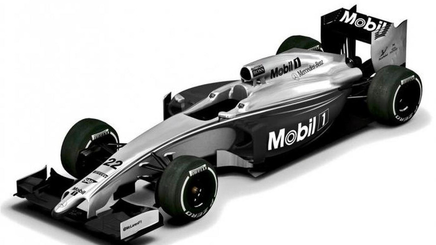 McLaren's Melbourne livery a one-off