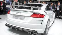 Audi TT Quattro Sport Concept debut in Geneva