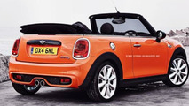 2014 MINI Convertible artist rendering