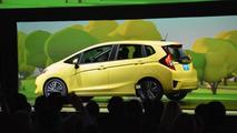2015 Honda Fit (US-spec) live at 2014 NAIAS
