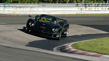 Pagani Zonda F on Nurburgring