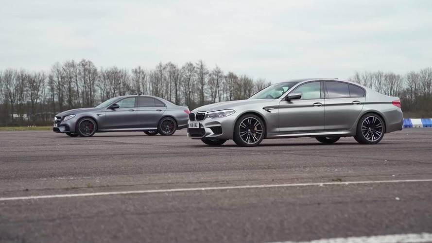 BMW M5 vs. Mercedes-AMG E 63 S 4MATIC+ 2018: ¿cuál acelera más?