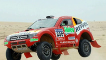 Dakar Mitsubishi Evolution