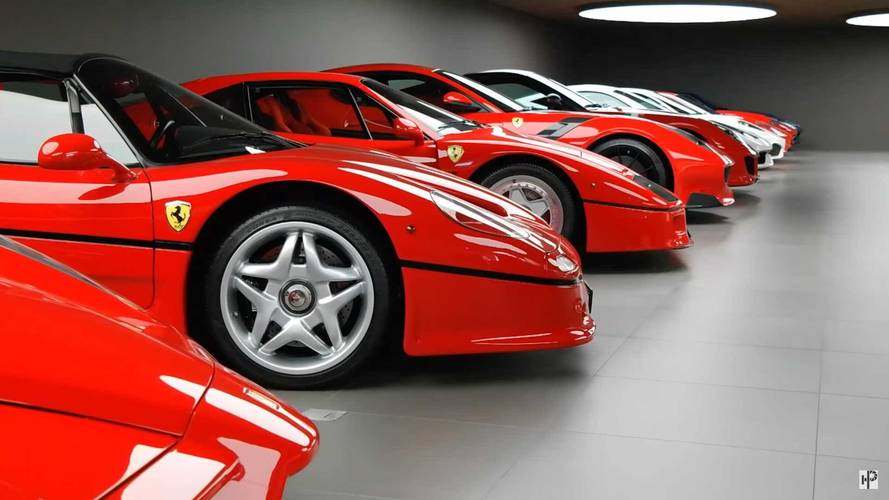 This Amazing Ferrari Collection Is Prancing Horse Perfection