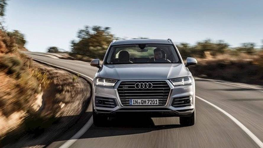 2016 Audi Q7 e-tron first drive: You won't notice it's green
