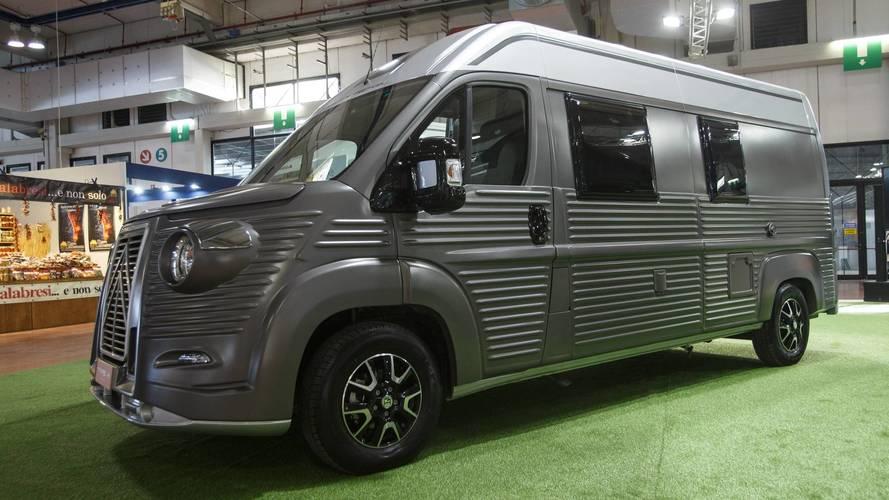 Citroën presenta el nuevo Type H en Italia
